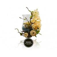 Maria Mondo Flower arrangement beige flowers