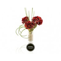 Maria Mondo Flower arrangement red Ortencia